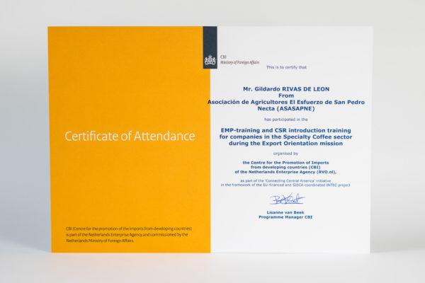 EMP-training – Holanda